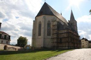Katedrála sv. Martina - od roku 2005 prebieha výskum