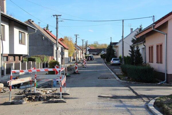 Dokončovanie mestských projektov - Písniky.