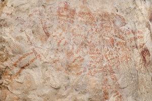 Červena silueta zvieraťa podobného býkovi má podľa vedcov minimálne 40-tisíc rokov