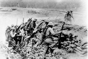 Americké jednotky v akcii.
