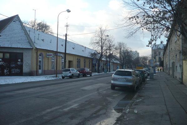 Šrobárova ulica v Trnave.