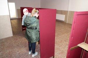 Voľby v Liesku.