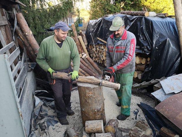 V Pribiline pôjde rodina Pozorovcov voliť, až keď dopília drevo.