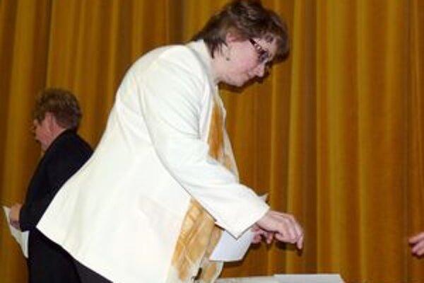 Nová zástupkyňa. Zástupkyňou primátora sa stala Etela Eglyová.