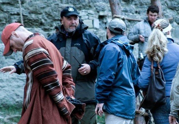 Ako koordinátor pri príprave scény z historickej drámy Tristan a Izolda (2005)