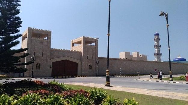 Sultánov palác v Salalah