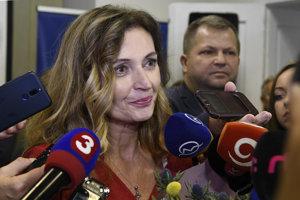 Andrea Turčanová investovala podľa transparentného účtu do svojho znovuzvolenia takmer 35-tisíc.