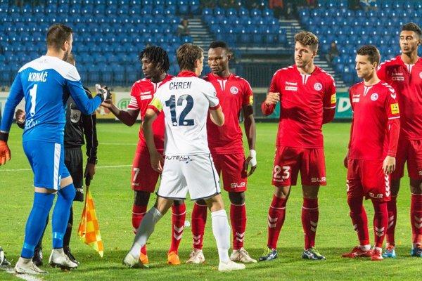 Zostava FK Senica je plná zahraničných hráčov.