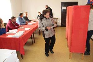 Voľby v tvrdošínskej časti Staré Medvedzie.