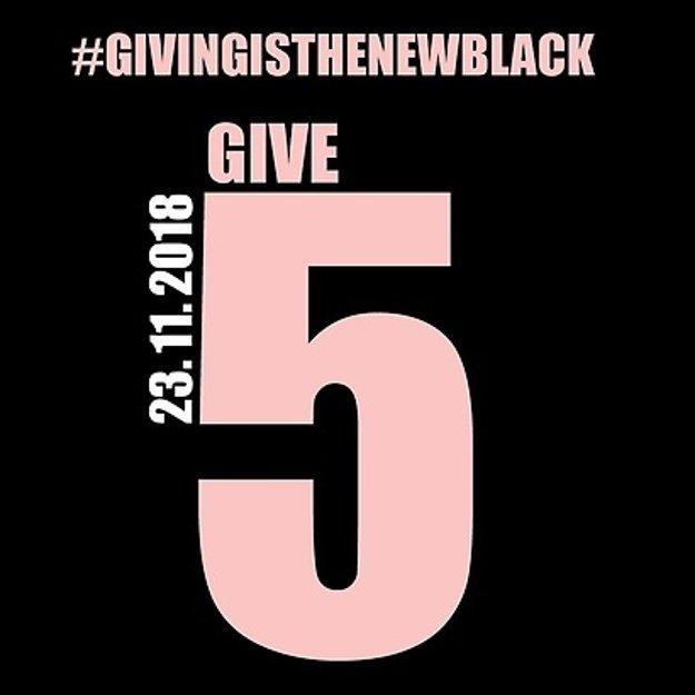 Aj vy sa zapojte v piatok do Giving Friday