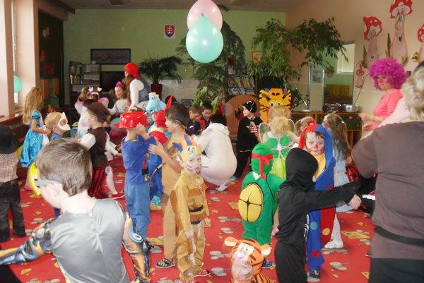 Deti si užili súťaže po každom tanečnom kole.