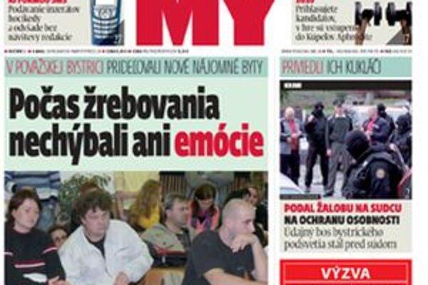Aktuálne informácie z okresov Považská Bystrica, Púchov a Ilava v regionálnom týždenníku MY Noviny stredného Považia.