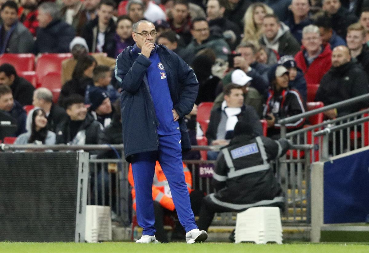 d11c0bb0be Tréner Chelsea Sarri  Trénerské remeslo je riskantné - Šport SME