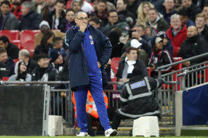 Maurizio Sarri, tréner FC Chelsea.