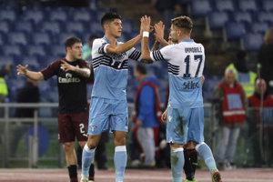 Lazio Rím doma remizovali s AC Miláno.