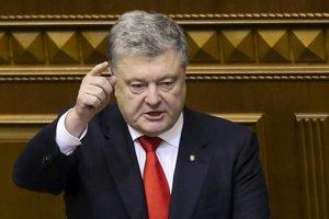 Súčasný prezident Petro Porošenko.