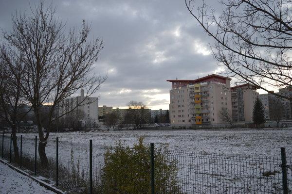 Športovisko má vyrásť v areáli ZŠ Prostějovská.