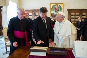 30. apríl 2018. Návšteva pápeža Františka.