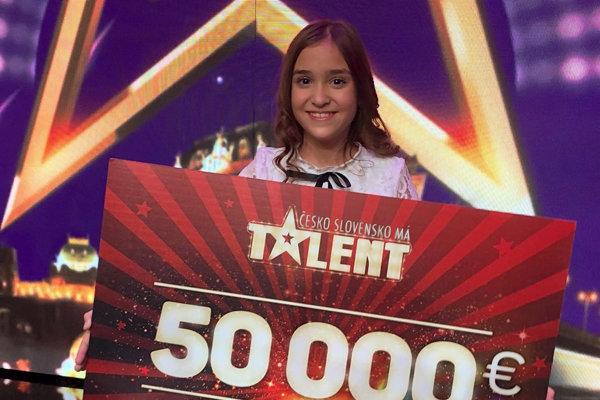 Nikolka celú šou vyhrala a získala finančnú odmenu.