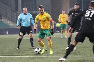 Michal Škvarka v sobotu jeden gól dal a na ďalší nahral.