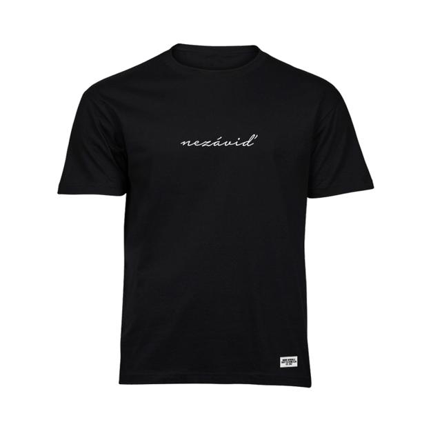 Tričko s nápisom Nezáviď