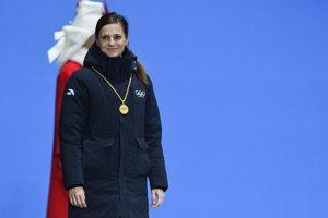 Členka Medzinárodného olympijského výboru (MOV) Danka Barteková.