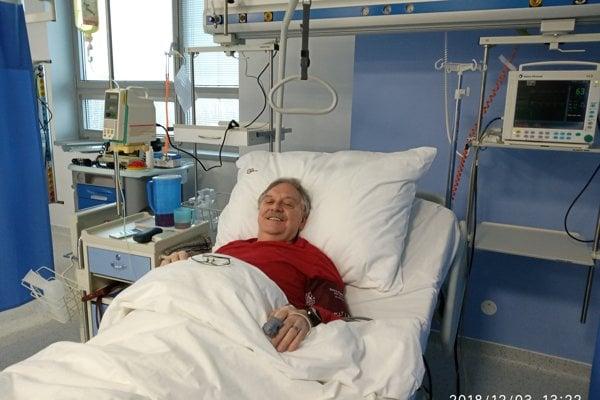 Prvý pacient, Košičan Rudolf, prekonal štyri infarkty.