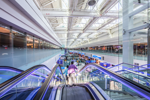 Nový terminál dubajského letiska.