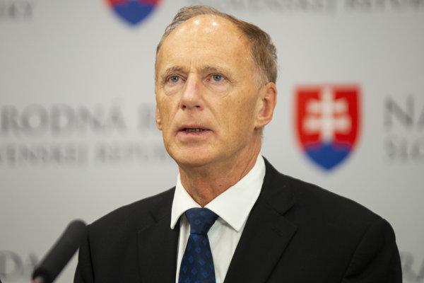 Podpredseda SNS Jaroslav Paška.