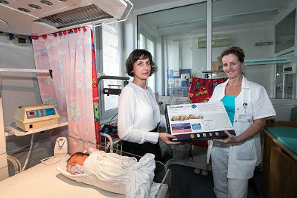 Nové monitory dychu v Univerzitnej nemocnici Louisa Pasteura
