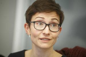Júlia Sokolovičová, expertka na energetiku Greenpeace