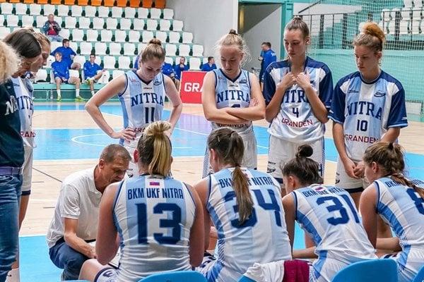 Basketbalistky Nitry sa najbližšie predstavia v sobotu na pôde Slovana Bratislava.