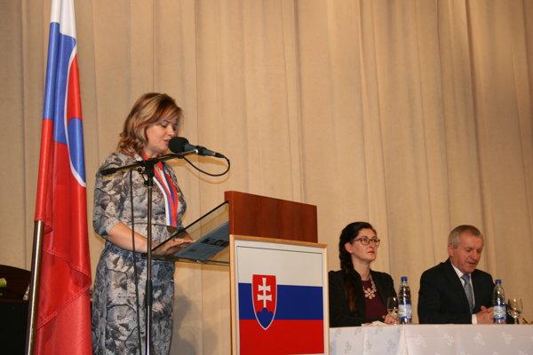 Miroslava Szitová, starostka najväčšej obce v SR