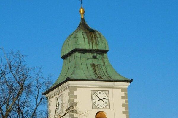 Farský kostol v Kláštore pod Znievom.