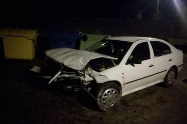 Takto vyzeralo auto po nehode.