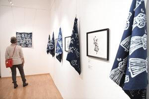 Výstava Modrotlač u Bazovského