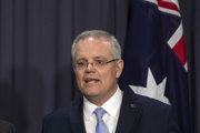 Austrálsky premiér Scott Morrison.