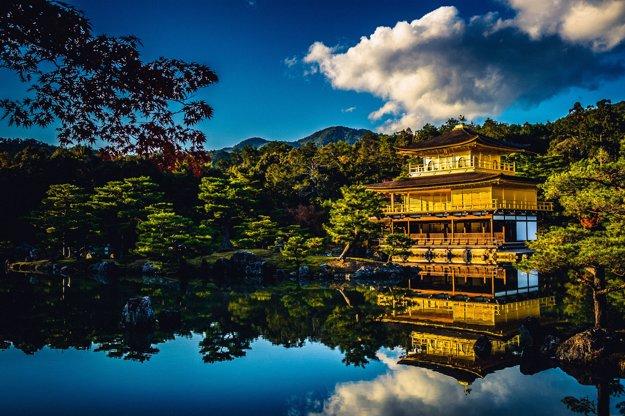 Kinkakudži alebo Zlatý pavilón