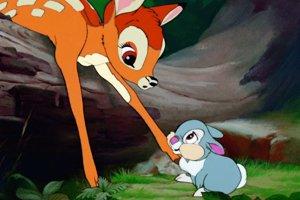 Rozprávka Bambi.