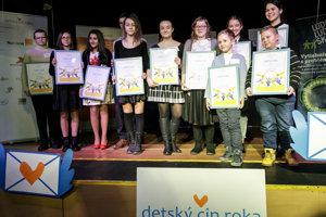 Projekt Detský čin roka ocenil statočné deti.