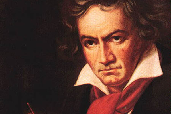 Portrét skladateľa Ludwiga van Beethovena (Joseph Karl Stieler)