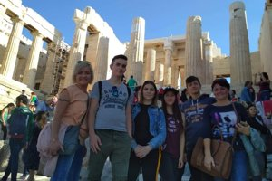 Žiaci z Tvrdošína na výlete v Grécku.