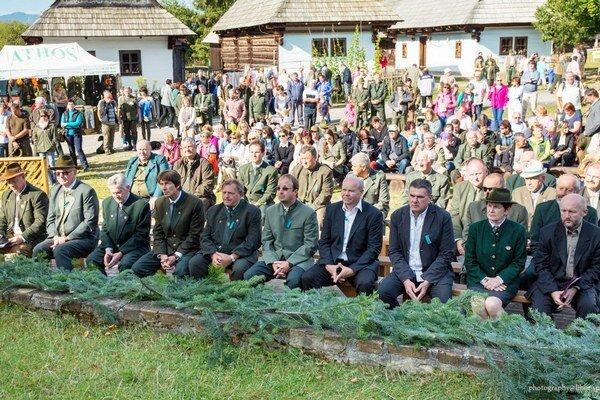 Pestrý program prilákal do múzea liptovskej dediny v Pribyline vyše dvetisíc návštevníkov z radov poľovníkov, lesníkov, ich rodín, priateľov, milovníkov prírody a turistov.