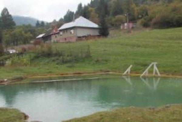 V jazierku je voda, ktorá lieči kožné choroby.