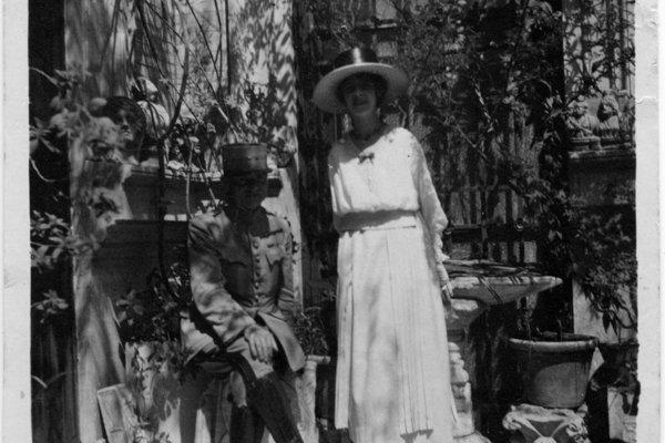 Giuliana a Štefánik v Ríme.