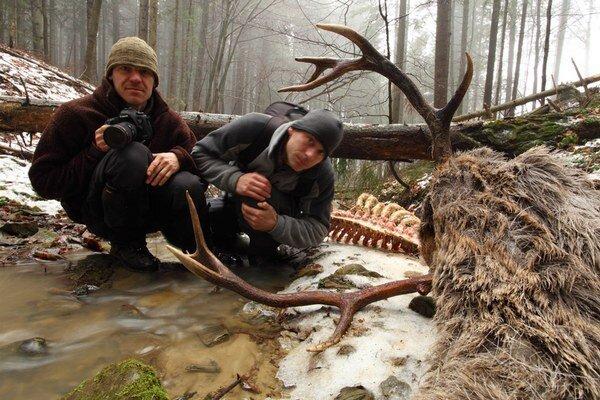 V divočine strávili Jozef Fiala (vľavo) a Karol Kaliský až 500 dní.