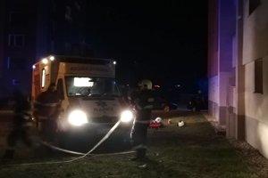 Štvrtkový zásah košických hasičov.