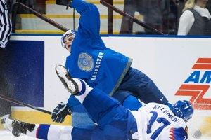 d50103ed4ac6e MS v hokeji do 20 rokov 2019: Pozrite si momentky zo zápasu Slovensko -  Kazachstan (12 fotografií)