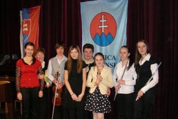 Podujatia sa zúčastnili aj stredoškoláci.