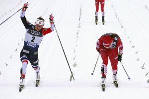 Ingvild Flugstad Östbergová (vľavo) po veľkej dráme zdolala Nataliu Nepriajevovú.